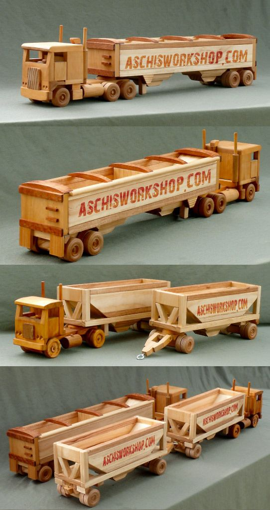 Wooden Toy Trucks For 3 Year Old : Ideas about wooden toys on pinterest