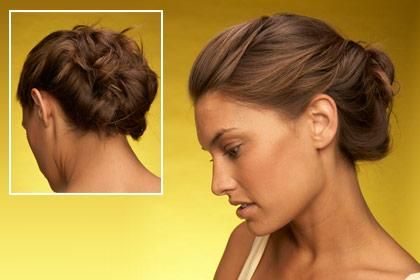 DIY Wedding Hair : DIY Pin Curl Twist