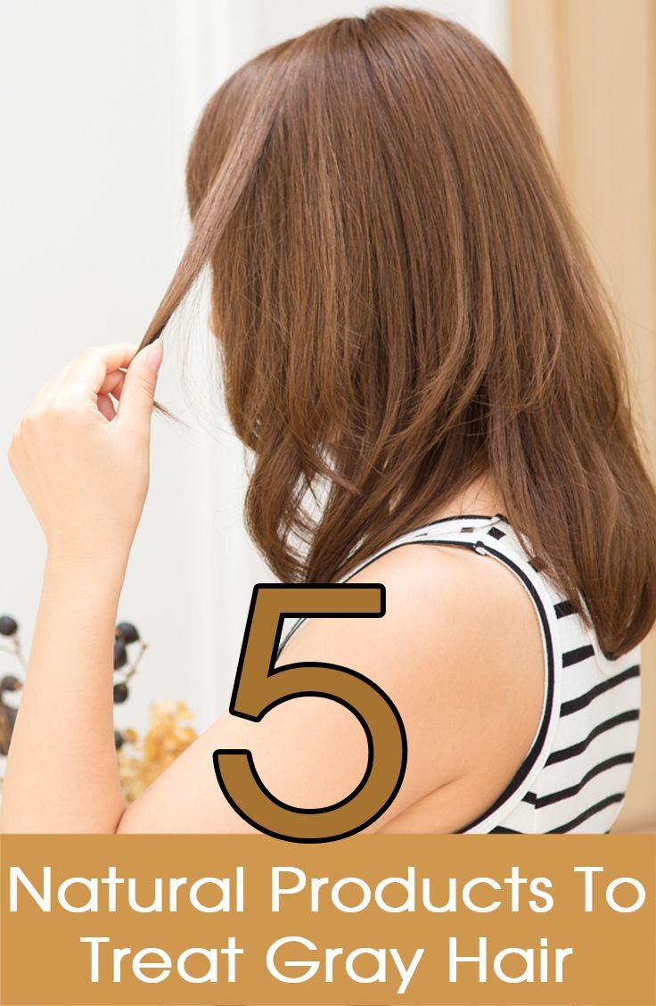 Having gray hair has become a common occurrence to almost everyone! Here are 5 surprising natural hair color products to treat your gray hair