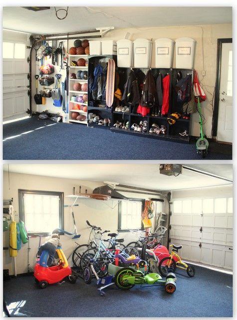 1000 Images About Garage On Pinterest Coats Shelves