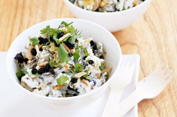 Give this classic Indian rice salad a makeover with the added flavour and texture of almonds.