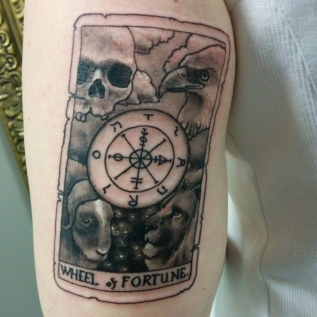 163 best images about tattoos of tarot cards on pinterest for Bingo tattoo ideas