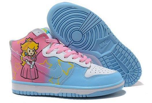 Cool Dunks High Tops Shoes, http://pinterest.com/pin/483996291174486551/. Pinned from www.followlike.net