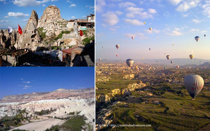 Cappadocia, Turchia http://matrioskadventures.com/2014/05/14/fiabesca-cappadocia-turchia-cosa-vedere-e-cosa-fare/