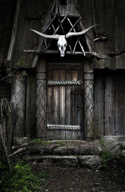 Viking's Home- Setting of the film 'Wickie und die starken Männer'. Bavaria Filmstadt, Munich