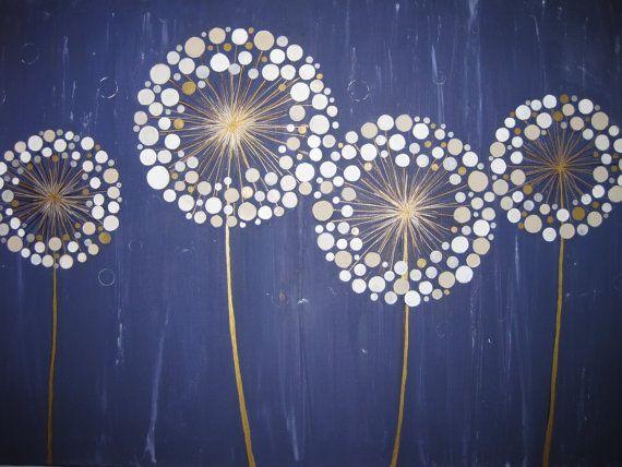 WISH dandelion series by LaurnyDoone on Etsy