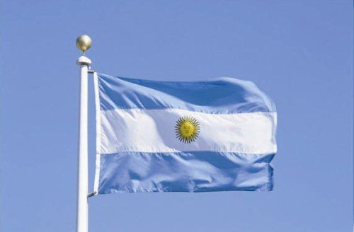Argentina National Country Flag 3X5 Feet by LemaxMall. $5.98. Wind, weather and fade resistant! Suitable for out-doors and in-doors;. Huge size flag, measurement in 3X5 feet / 36X60 inches / 90X150 cm;. Lightweight and durable, made from 100% durable polyester;. Can be used as a wall hanger or curtain. Machine washable;. This is an Argentina country flag;. This is an Argentina country flag;Huge size flag, measurement in 3X5 feet / 36X60 inches / 90X150 cm;Lightweight and...