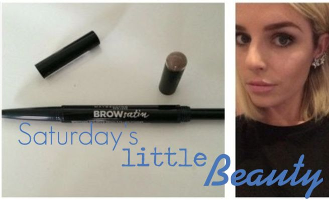 Saturday's little beauty: Maybelline Brow Satin