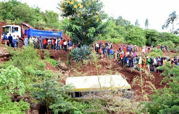 Tanzanian president John Magufuli described the crash that killed 32 grade nine pupils as a