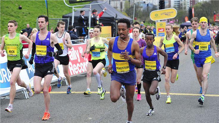 Run-Fast's Peter Huck at Morrisons Great Edinburgh Run 10miler