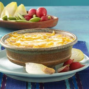 Three-Pepper Bean Dip - made a version of this last year... DELICIOUS