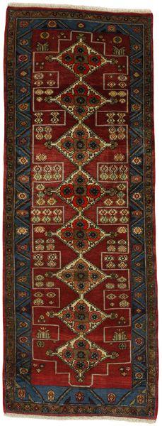 Senneh Kurdi Tappeto Persiano 184x70 Tappeto persiano