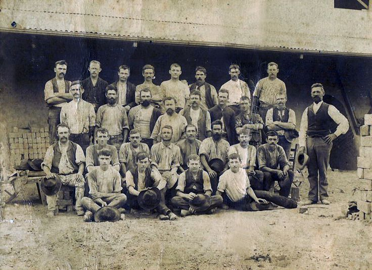 Employees of Speare's Brickworks, St Peters