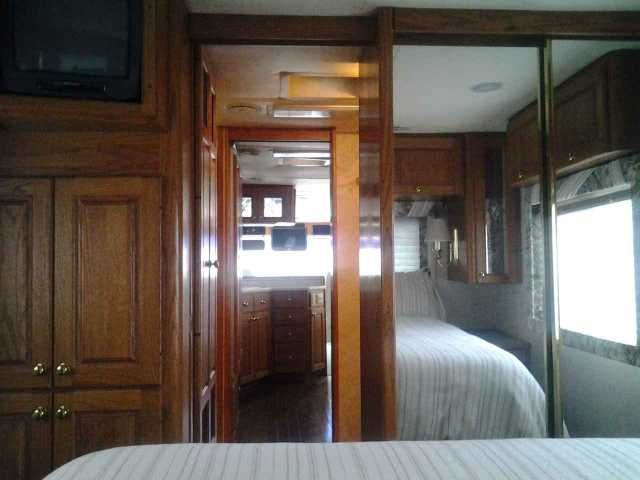 1995 Used Holiday Rambler Imperial 38PKD Class A in California CA.Recreational Vehicle, rv, 1995 Holiday Rambler Imperial 38PKD, very nice coach LPG generator window shades alcoa wheels after market slide-out 350HP comings 2 ac units flat screen TV $29,500.00