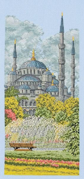 The Blue Mosque http://www.sewandso.co.uk/Products/The-Blue-Mosque-Cross-Stitch-Kit__ANC-PCE0801.aspx