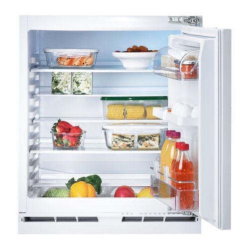 KALLNAT Réfrigérateur encastrable A++, blanc 349 €