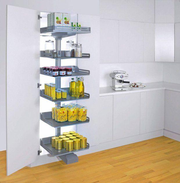 Wyposażenie szafek kuchennych. PLENO, cargo zamykane frontem na zawiasach, cena:  od 1589 zł, Peka