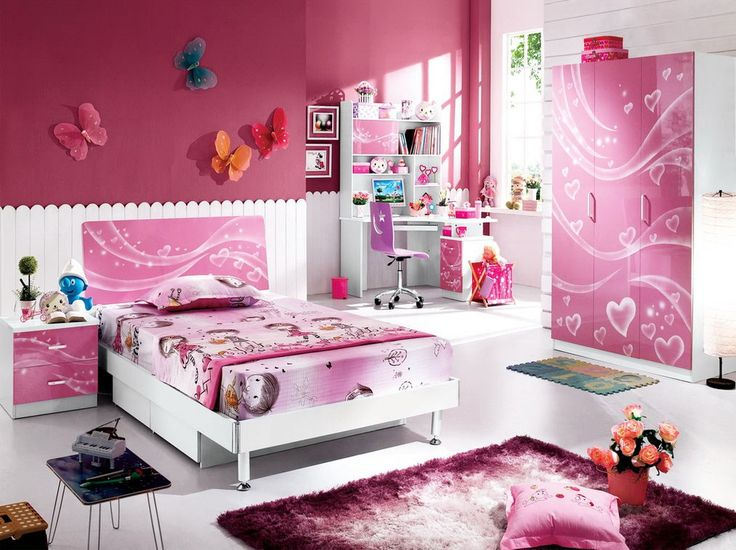 Pink Bedroom Sets For Girls best 25+ pink kids bedroom furniture ideas on pinterest | grey
