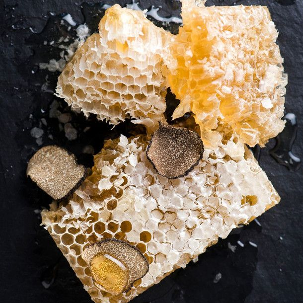 black truffle honeycomb