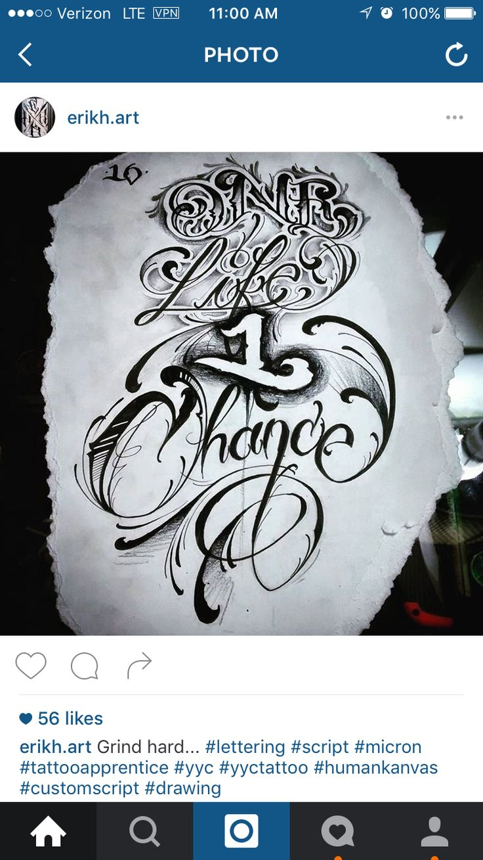 Tattoo script