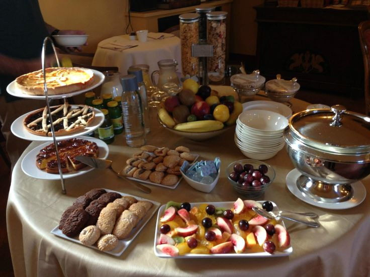 Breakfast at #LocandaSanFrancesco, #boutiquehotel in #Montepulciano, #Tuscany