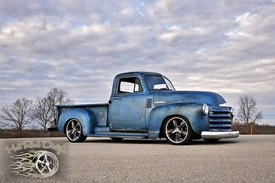 PATINA SHOP TRUCK HOT ROD LOWERED PRO TOURING!