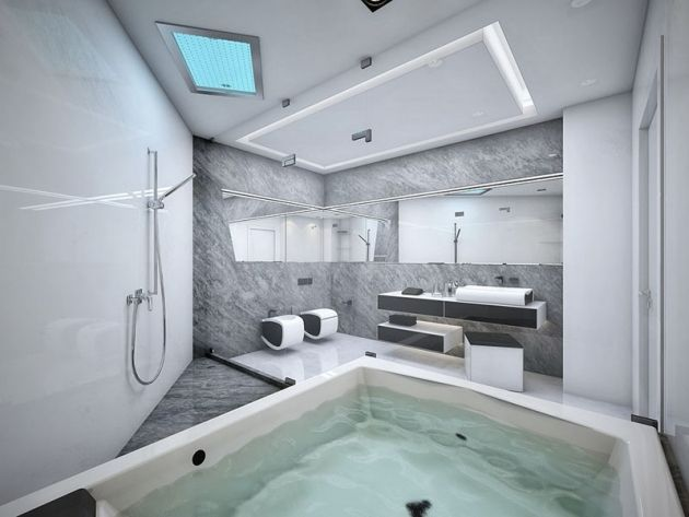 best 25+ badewannen & whirlpools ideas on pinterest - Badezimmer Mit Whirlpool