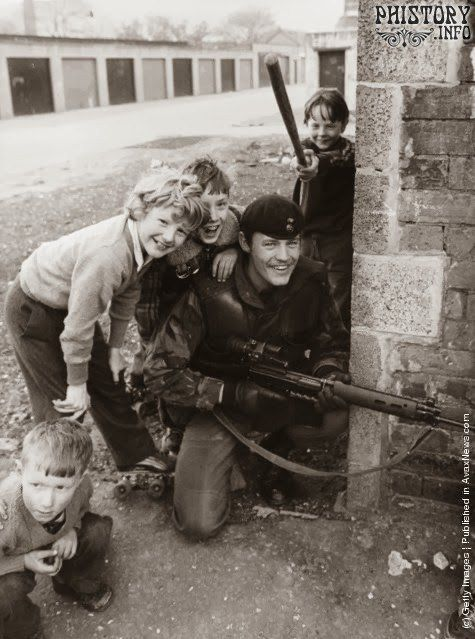 Белфаст. Северная Ирландия. Соединённое Королевство Великобритании и Северной Ирландии. Май 1981 года.
