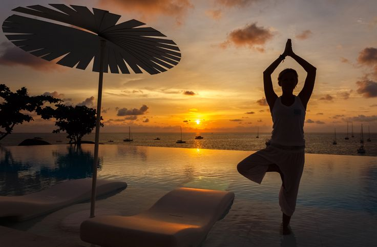 SUN SALUTATION: Salute sunset magic, healthy living and luxury bliss during Kata Rocks' 'Essential Recharge Retreats' from 22 to 28 March. For booking information reservations@katarocks.com ‪#‎katarocks‬ ‪#‎yogaretreats‬ ‪#‎luxuryspa‬ ‪#‎bestsunsets‬
