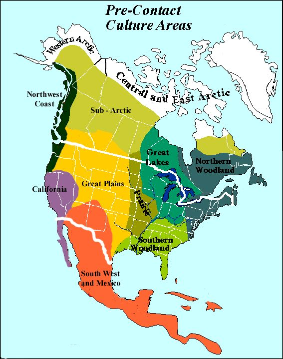 Indigenous Map Of North America.Map Of The Native American Peoples In The United States Google
