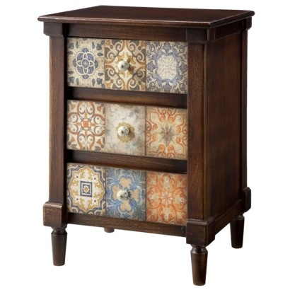Small Accent Storage Table With Drawers Target Small