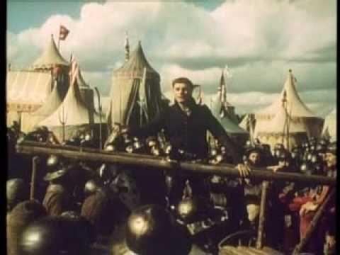 Sir Laurence Olivier - St. Crispin's Day Speech - Henry V (1944)  http://www.britsunited.blogspot.com