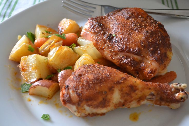 Roasted Chicken with Potatoes | Favorite Places & Spaces ...