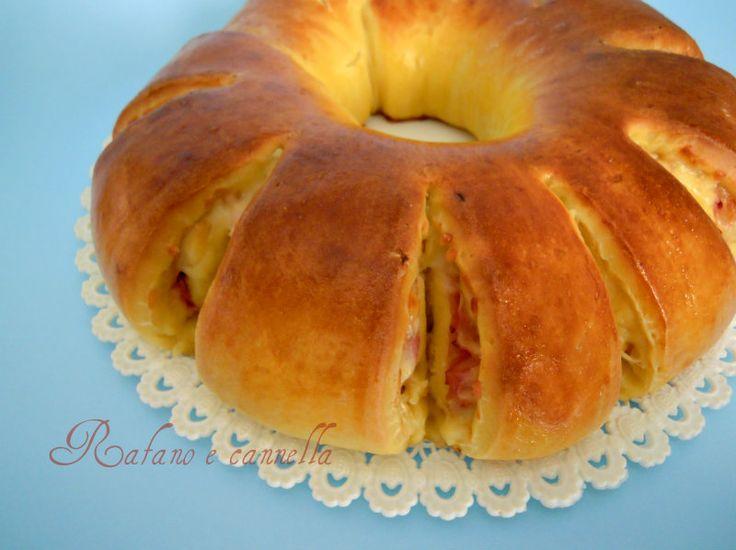 Pan brioche salato, una delizia da gustare sia a pranzo che a cena. Oggi l'ho preparato con il lievito madre, una vera squisitezza!
