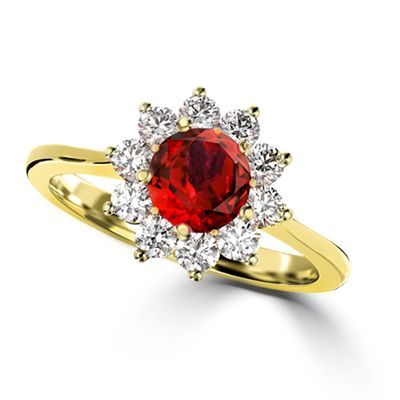 The Galaxy Collection is magical:  Generous with diamonds and exudes architectural beauty.  The energy of ruby is intense.  It is the chosen stone by leaders, priests and kings for its ability to guide wise and noble decision making. Ruby is particularly good for helping to make wise financial decisions.  It is the stone of fertility, protection and has brilliant detoxification abilities. #jackfriedman #ruby