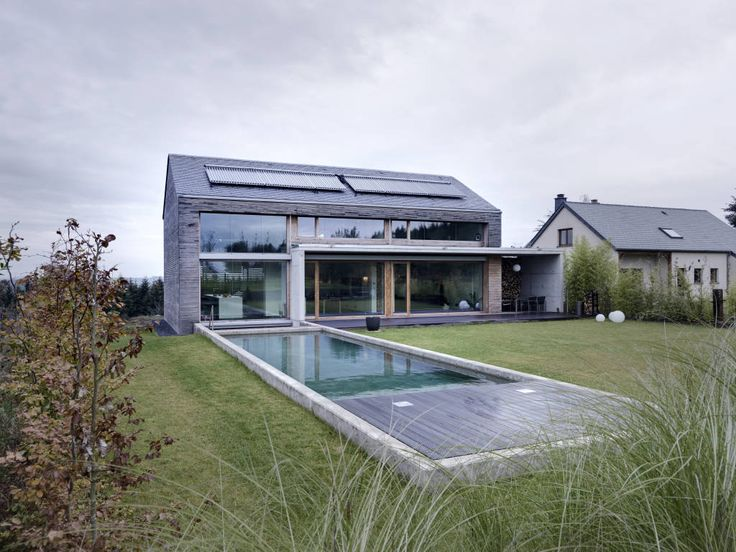 166 best Haus images on Pinterest Modern homes, Building homes and