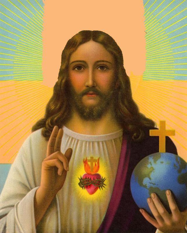 """#NovenaACristoRey #CristoRey DÍA 5 SAGRADO CORAZÓN DE JESÚS, PERDÓNANOS Y SÉ NUESTRO REY """"CHRISTUS VINCIT, CHRISTUS REGNAT, CHRISTUS IMPERAT"""" vía https://www.facebook.com/Saldetucielo2/photos/a.401109913325019.1073741830.157983067637706/431010000335010/"""