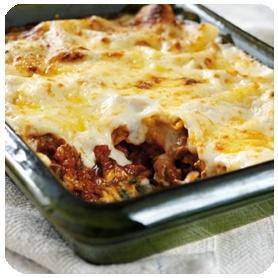 Dolmio lasagne