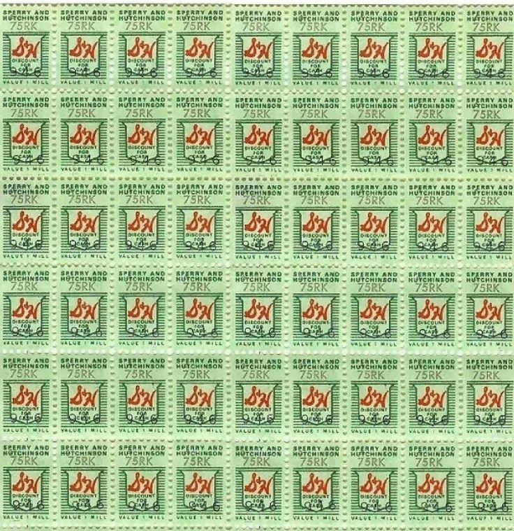 **FREE Vintage Printable - S Green Stamps
