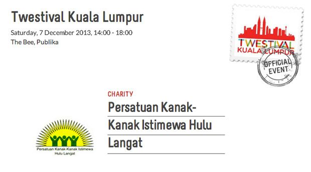 Twestival Kuala Lumpur Returns, 7 December @ The Bee, Publika