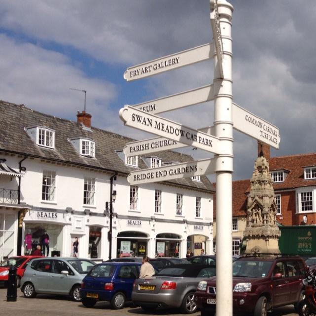 Been Here!  Saffron Walden, Essex, UK