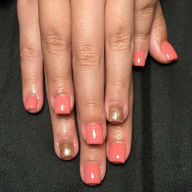 The 25 best peach nail art ideas on pinterest coral nails best style peach nail art designs 2017 prinsesfo Images