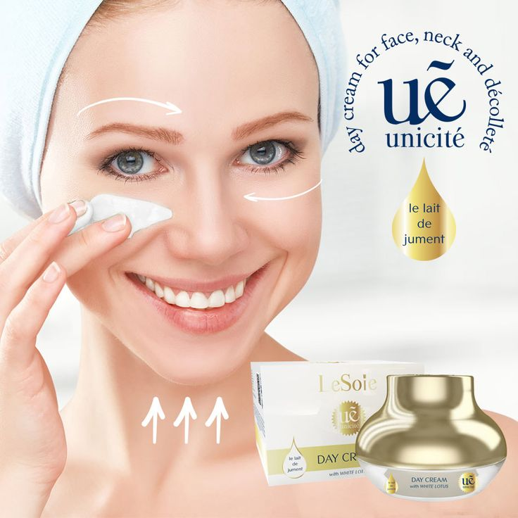 Unicité Mare's Milk with White Lotus #DayCream contains the beneficial Mare's Milk that helps your skin to keep a youthful appearance. Provides an intensive hydration and leaves your skin feel luxuriously smooth. For better result apply every morning on your cleansed face, neck and décolleté. #skincare #naturalbeauty