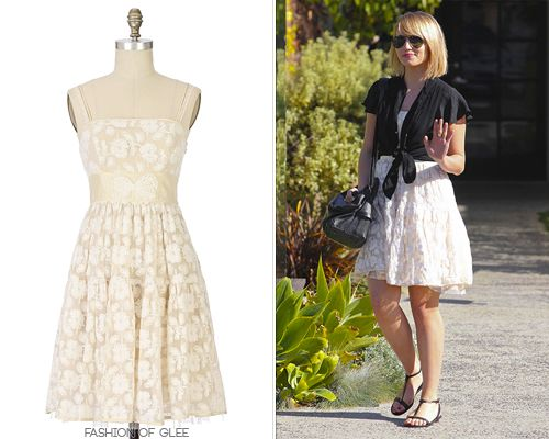 Dianna Agron leaves a salon, West Hollywood, January 10, 2012  Thanks MissAnthropologiest!  Anthropologie Hour-by-Hour Dress - No longer available  Worn with: Ray-Ban sunglasses, A Peace Treaty ring, Delfina Delettrez ring, Helmut Lang satchel, Salvatore Ferragamo sandals