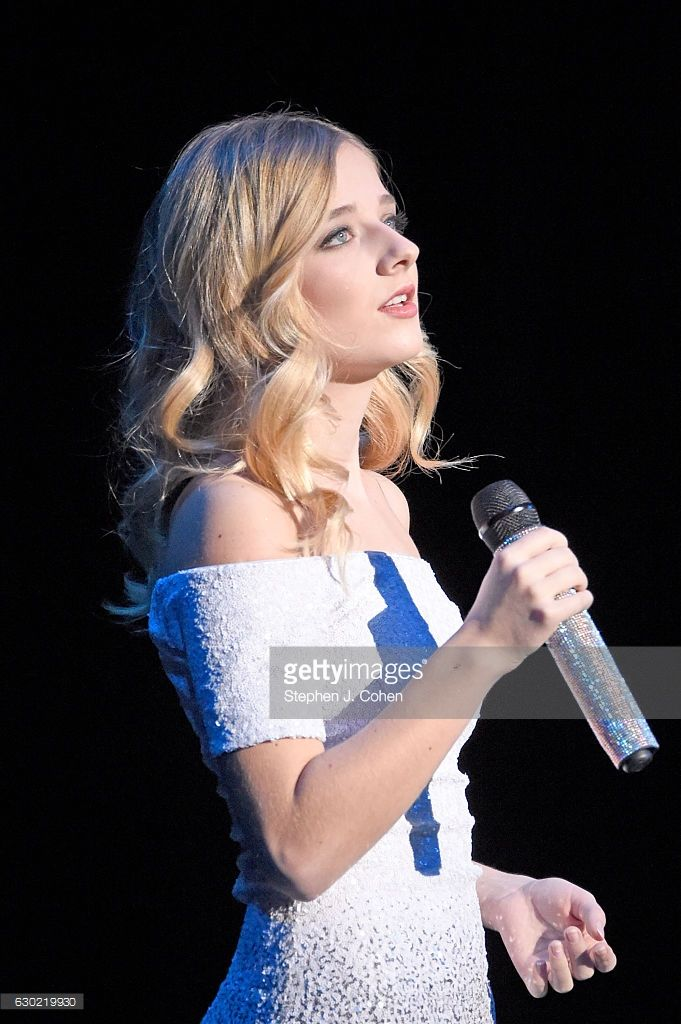 Jackie Evancho performs at Brown Theatre on December 18, 2016 in Louisville, Kentucky.