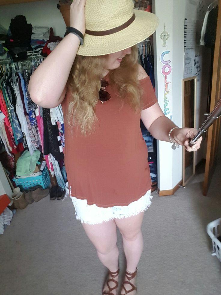 Hat: Target Shirt: AE Shorts: Target  Shoes: Target
