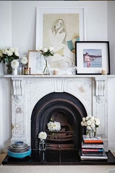 Work Of Art - 15 Inspiring Fireplaces From Instagram - Photos