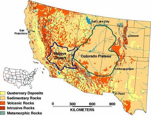 Best Mojave Desert Map Ideas On Pinterest Continental Divide - Us map mojave desert
