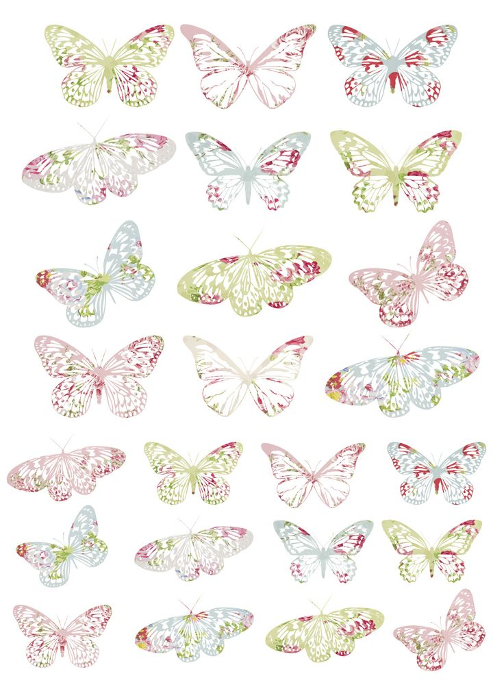 More Vintage Butterfly Freebies… « My everything & nothing
