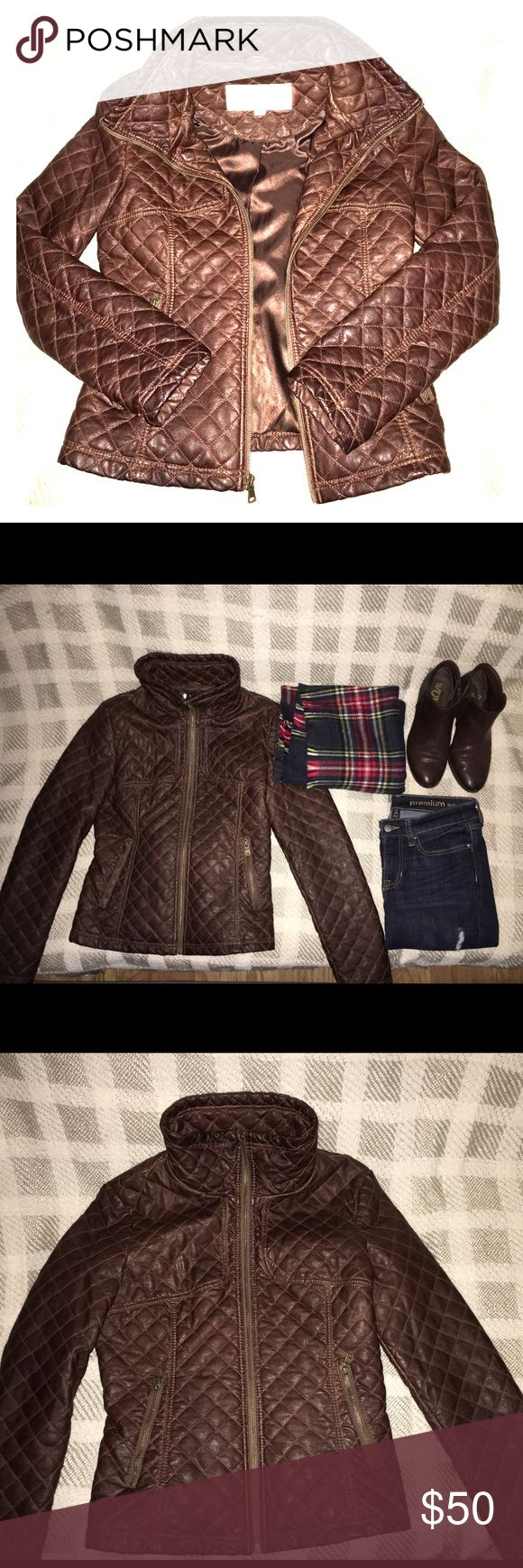 Jessica Simpson Coat Jessica Simpson coat perfect for the Fall season.  Gorgeous brown color to wear with everything.  Perfect condition! Jessica Simpson Jackets & Coats